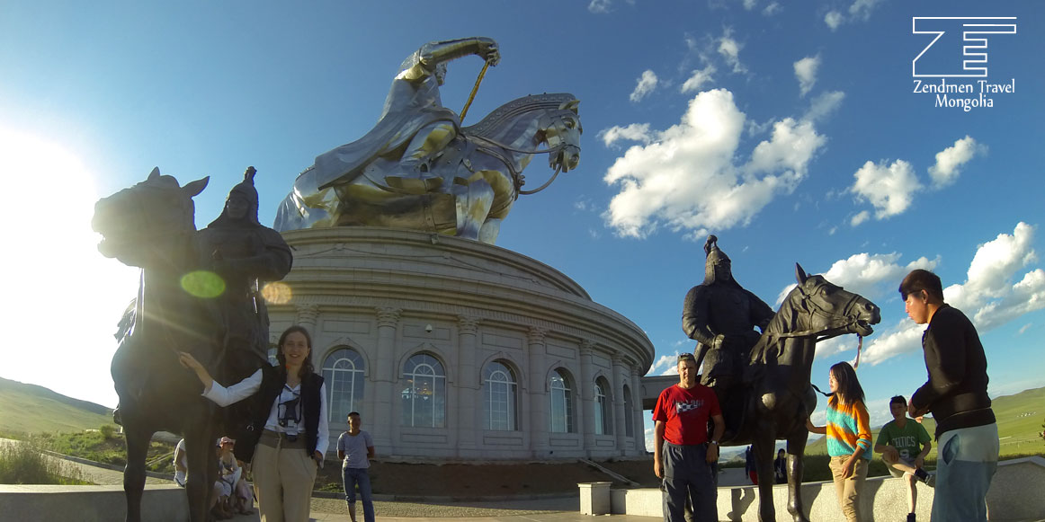 Chinggis statue complex