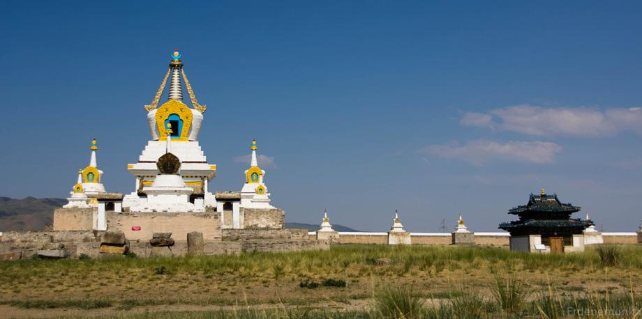 Golden Stupa at Erdene Zuu monastery