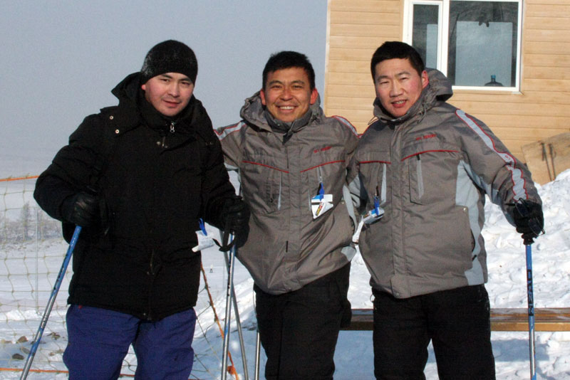 Zemdmen Travel Mongolia co-founders