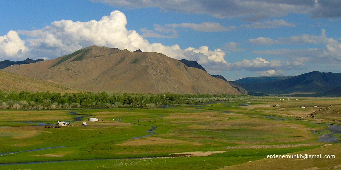 Bogd River in Zavkhan