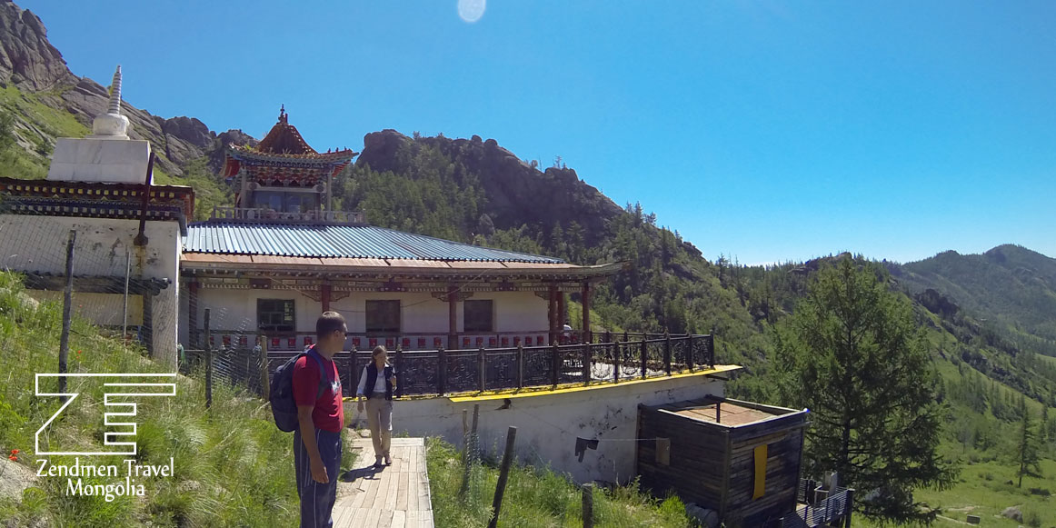 Aryapala meditation temple in Terelj National Park