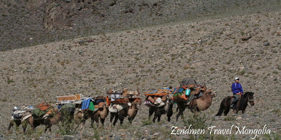There are no other means of transport can do this journey in Altai Mountains