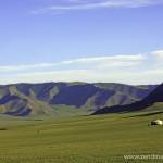 nomadic family in Zavkhan