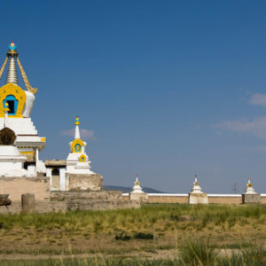 Golden Stupa at Erdene Zuu monastery